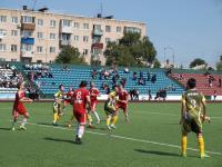 Уссурийский ФК«Локомотив» сыграл в международном товарищеском матче