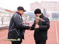 Сергей Марков получает серебряные медали